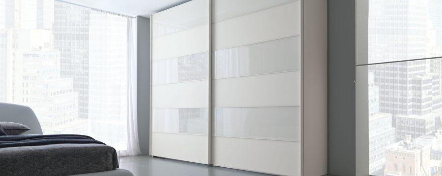 ארון הזזה זכוכית משולבת