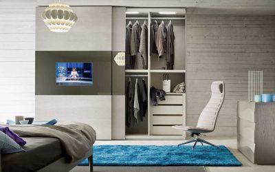 ארון טלוויזיה רחף מראה