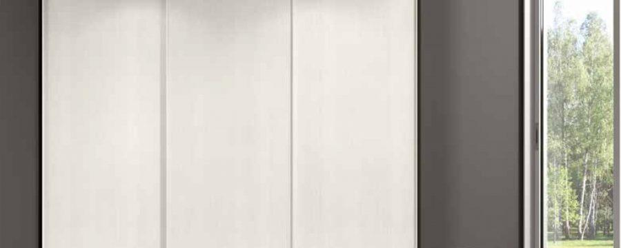 ארון קיר רחף לבן